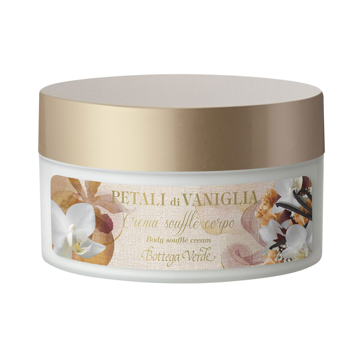 Vanilla petals - Body Soufflé Cream with Vanilla Extract (200 ml)