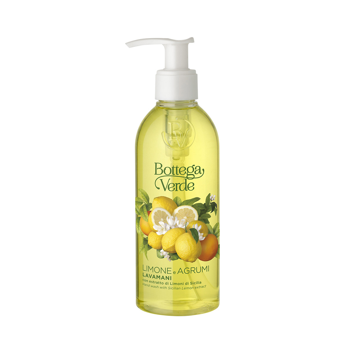 Limone e Agrumi - Hand Wash with Sicilian Lemon Extract (250 ml)
